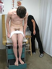 Dr. Phingerphuk told me to keep my legs wide open for him to keep an eye on everything fetish mens underwear