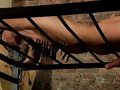 Extreme male bondage and male...