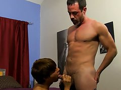 Teen boy first cock suck and gay...