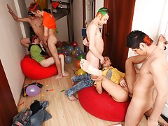 Group gay cocks and gay nude...