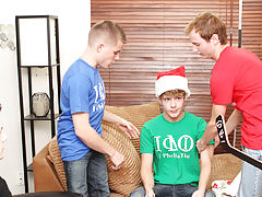 Cute young twink boys bound and...