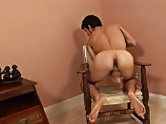 Josh has a cock that is at attention almost all the time, and he obviously loves pleasing himself by jerking it videos of male masturbation
