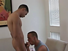Hot gay young muscular men...