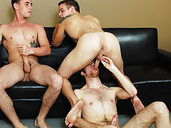 Young gay guys solo anal and...