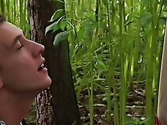 Boy outdoors boner movies and...