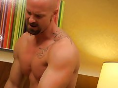 Gay wrestlers anal sex and free...