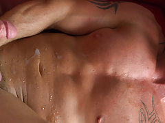 Muscle orgy gay sex and...