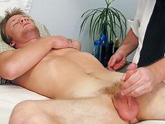 Erotic male masturbation...