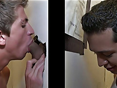 Gay blowjob big shaved dick and...