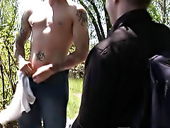 Old part hunk gay sex and fully...