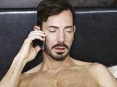 Deep gay anal sex and gay porn...