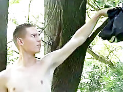 Grandpa makes young twink cum and twinks in shorts - at Tasty Twink!