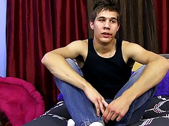 He was obviously nervous, but that was understandable, this was this chab very first time on camera free videos of first gay sex at Boy Crush!
