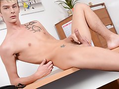 Gay anal twink movie and rimming gay twink at Staxus