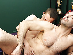 Gay kiss nude in bath room and...