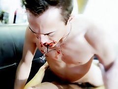 Clips of fingers in boys ass and him cumming and cute anime twink bi boys - Gay Twinks Vampires Saga!