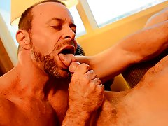 Taking turns cumming inside gay and twinks with anal beads at My Gay Boss