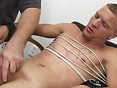 Male masturbation punishment...