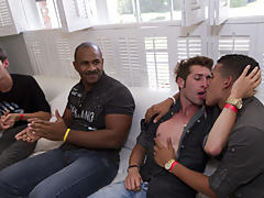 Free gay group sex videos and...