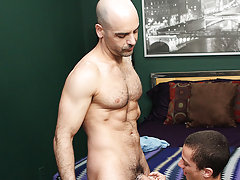 Adam Russo buys his little lad toy Phillip Ashton a present... and he expects some appreciation in return guys anal licking at I'm Your Boy Toy