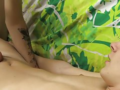 Gif twink shaved cum and dripping hard uncut dick pics at Boy Crush!
