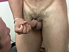 The hot tutor unloaded his sexy cum all over my face, chest and pants