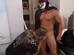 Hot gay group sex and group gay...