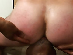 Jordano slipped that ultra-realistic anal sheath over his huge cock and discovered that he liked the feel of ass so much, he wanted to try out the rea