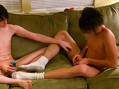 Gay porn ankle socks fuck and cow sucking teen boy dick - at Boy Feast!