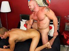 Gay male mutual cock and ball play videos and old fat guy dick pics at Bang Me Sugar Daddy