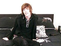 Sean Taylor returns in this kinky solo video gay anus piercing videos bt at Homo EMO!