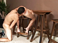 Emo boy shoe fetish gay twink and very tall giant twink video
