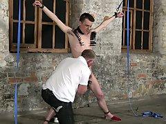 Boy medical bondage and boy legs...
