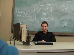 The student's tight hole drives Tyler crazy gay twink mpeg at Teach Twinks