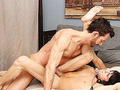 Sucking cock w facial boy and gay men sucking and fucking huge gigantic dicks at Bang Me Sugar Daddy