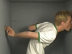 Twink gay boy pissing at Teach Twinks