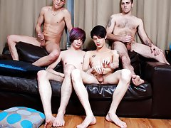 Hot shaved emo boy pics free and homo emo cumming sucking cock videos at Staxus