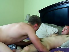 Cute sexy young boys dick and men jerking cum in own mouth - Jizz Addiction!