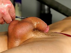 Dick between ass fetish gay porn...