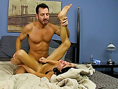 Gays anal double penetration pictures and sexy naked brown jocks at My Gay Boss
