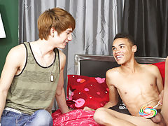 Gay twink trailers and his first...