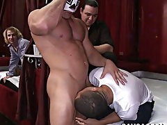 Straight latino men sex video...