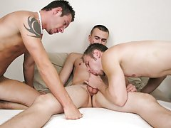 Boys jerking off with clothes on...