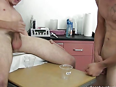 The guys continued jerking off and sucking each others cock until it was time to bust there nut