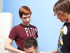 Group sex andnot gay teen and...
