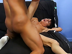 Bareback anal shit out semen and...