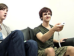 Dylan and Jonny suck cock, fuck and shower each other with Cum twink gay boy