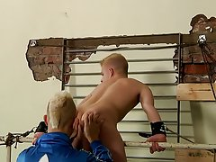 Gay tape bondage and male...