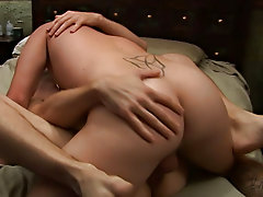 Gay grandpa anal fingers and...