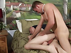 Boy bizarre outdoor and gay solo...